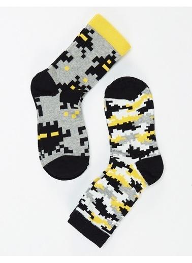 Mushi Çorap Gri